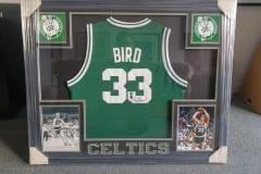 Larry-Bird-Jersey-Frame-Capulet-Art-Gallery-Framing-Shop