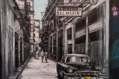 Capulet Art Gallery & Framing Shop - canvas stretches - cuba car