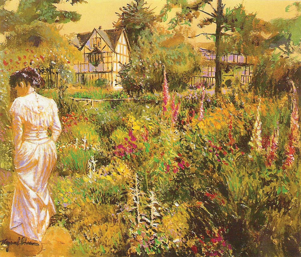 Old English Inn Garden