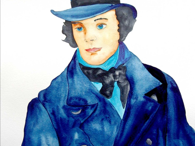 Man with Blue Hat