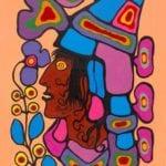 Capulet Art Gallery - Norval Morrisseau - Acquiring Wisdom
