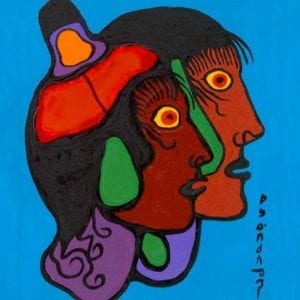 Capulet Art Gallery - Norval Morrisseau - As One