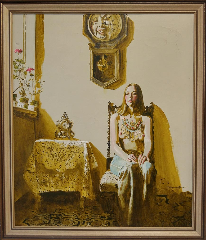 Capulet Art Gallery - Raymond Chow_Woman in Time