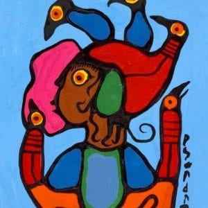 Capulet Art Gallery - Norval Morrisseau - Child of Flight