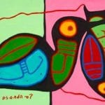 Capulet Art Gallery - Norval Morrisseau - Life on the Pond