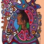 Capulet Art Gallery - Norval Morrisseau - Pisces Princess