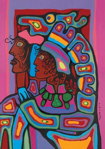 Capulet Art Gallery - Norval Morrisseau - Power from Within