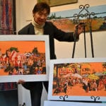 Capulet Art Gallery - Raymond Chow Displaying Art