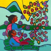 Capulet Art Gallery - Norval Morrisseau - The Branch of Life