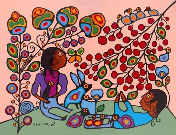 Capulet Art Gallery - Norval Morrisseau - The Mother Earth
