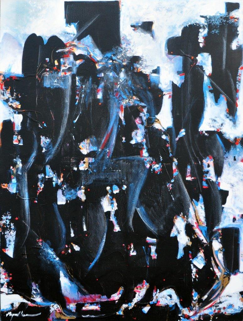 Capulet Art Gallery - Raymond Chow - Dark Night Grands