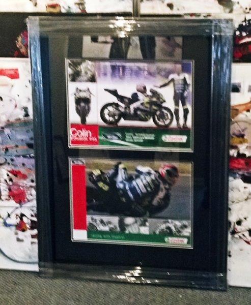 Capulet Art Gallery - custom framing - motorbike