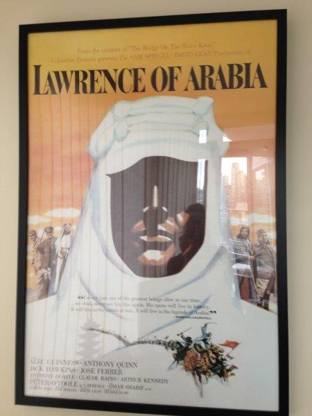 Capulet Art Gallery - Poster Frame - Lawrence of Arabia (2)