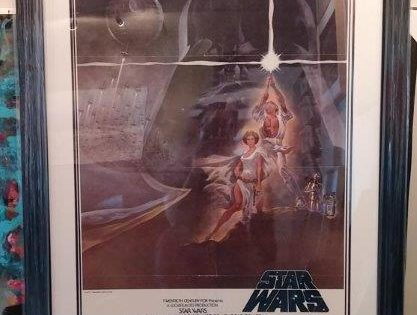 Star Wars Poster Frame