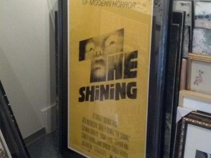 The Shining Poster Frame